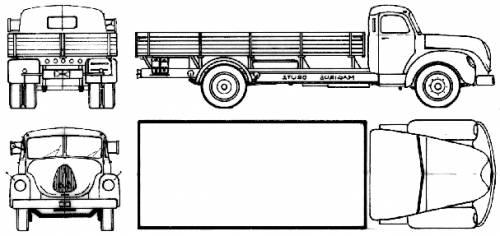Magirus-Deutz S6500 (1953)