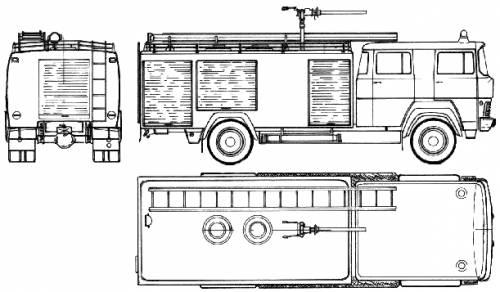 Magirus-Deutz TLF24-41 Fire Truck (1976)