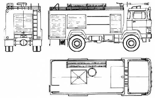 Magirus-Deutz TLF24-50 Fire Truck (1976)
