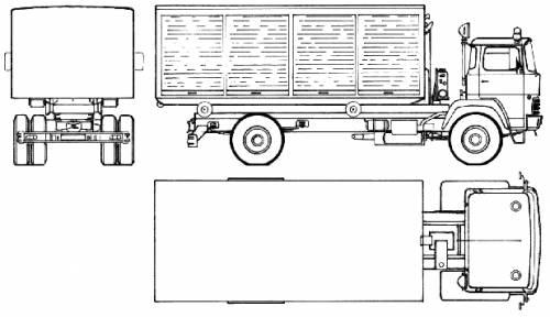 Magirus-Deutz Water Tanker (1979)