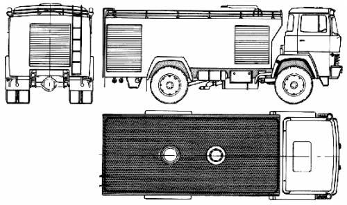 Magirus-Deutz ZLF24 Fire Truck (1981)