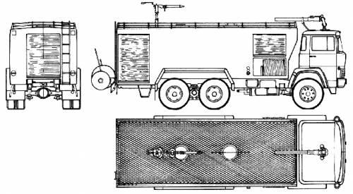 Magirus-Deutz ZLF40-120-1 Fire Truck (1977)