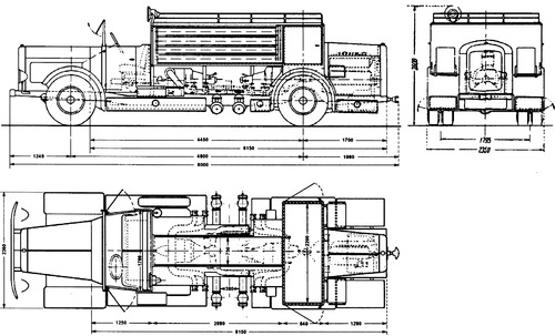 Magirus M30 Fire Truck