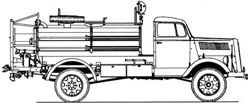 Magirus TLF 1543 Fire Truck