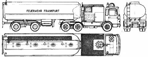 MAN 19.304 Fire Truck (1974)