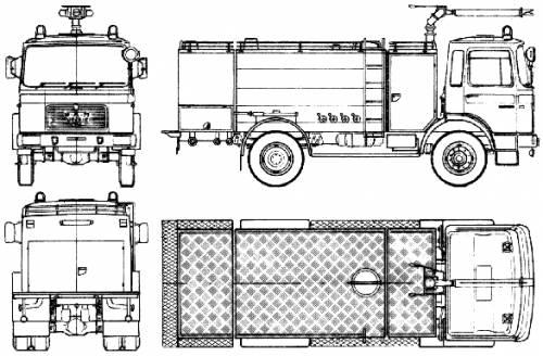 MAN 19.320 FAK Fire Truck (1975)