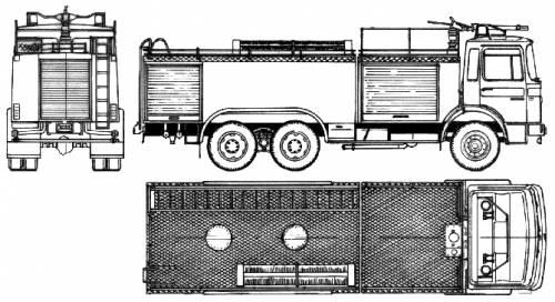 MAN 26.204 Fire Truck (1986)