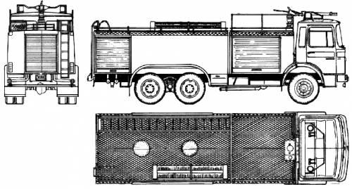 MAN 26.240 Fire Truck (1981)