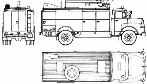 MAN 770 HA Fire Truck (1964)