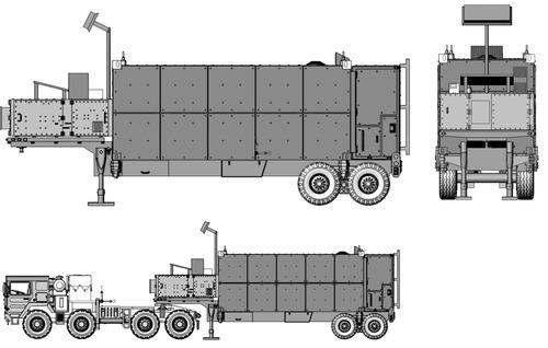 MAN CAT M1013 + BGM-109G Gryphon GLCM