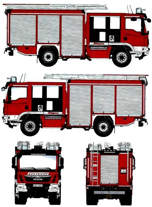 MAN TGM Schlingmann HLF20 VARUS 4x4