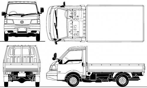 Mazda Bongo Pick-up 4WD (2010)