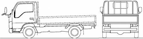 Mazda Titan Flat Bed 1.5t (2010)