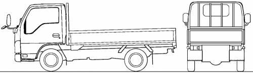 Mazda Titan Flat Bed 1.75t (2010)