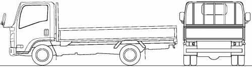 Mazda Titan Flat Bed 1t M (2010)