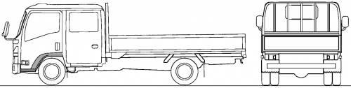 Mazda Titan Flat Bed 2.75t L (2010)
