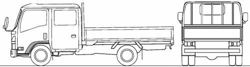 Mazda Titan Flat Bed 2.75t S (2010)