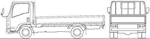 Mazda Titan Flat Bed 2t M (2010)
