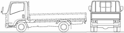 Mazda Titan Flat Bed 2t S (2010)