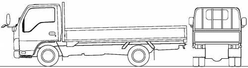 Mazda Titan Flat Bed 3.75t L (2010)
