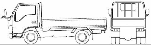 Mazda Titan Flat Bed 3t (2010)