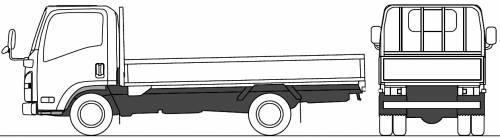 Mazda Titan Flat Bed 4t L (2010)