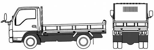 Mazda Titan Recliner 1.75t (2010)
