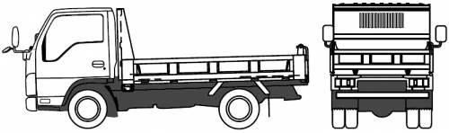 Mazda Titan Recliner 1t (2010)