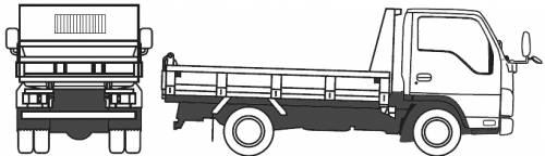 Mazda Titan Recliner (2010)