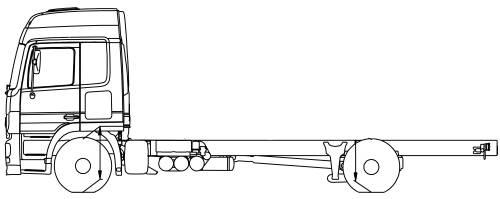 Mercedes Actros 18 L