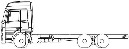 Mercedes Actros 24 6x4