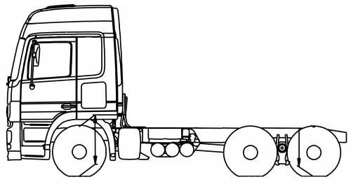 Mercedes Actros 33 S 6x4