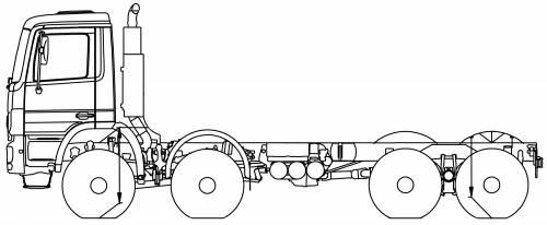 Mercedes Actros 41 AK 8x6
