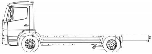 Mercedes Atego 15L