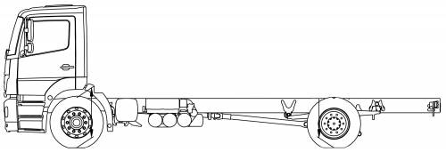 Mercedes Axor 18