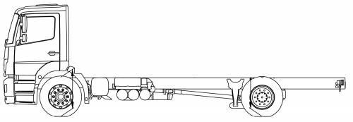 Mercedes Axor 18 L