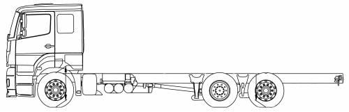 Mercedes Axor 25 LENA 6x2