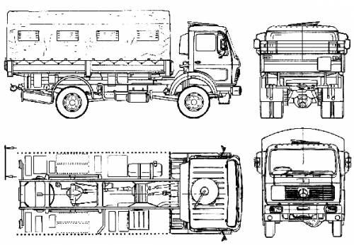Mercedes-Benz 1017A (1978)