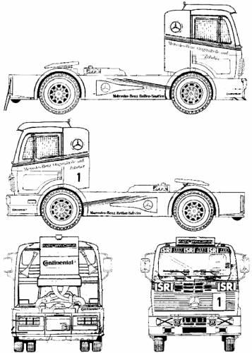 Mercedes-Benz 1450 LS Tractor