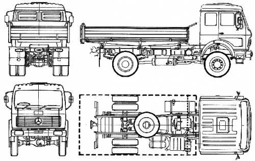 Mercedes-Benz 1626AK (1976)