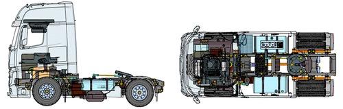 Mercedes-Benz Actros 1851 GigaSpace