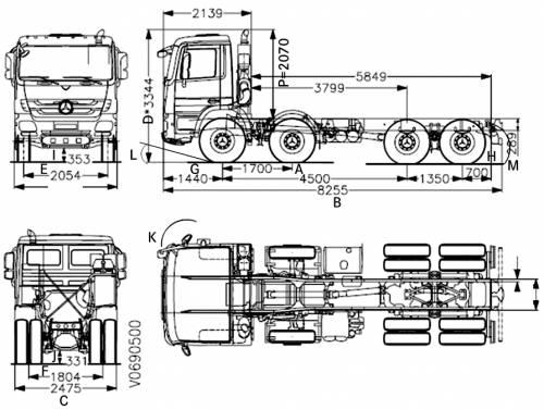 Mercedes-Benz Actros 4144K (2013)