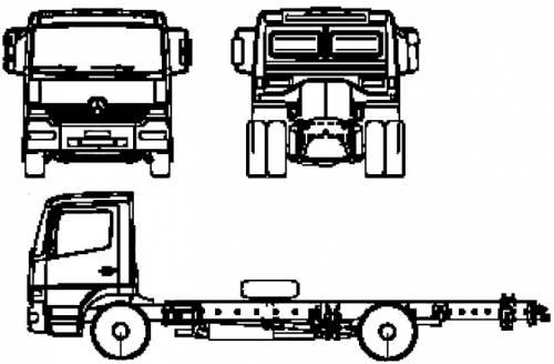 Mercedes Benz Atego  DLK 23-12