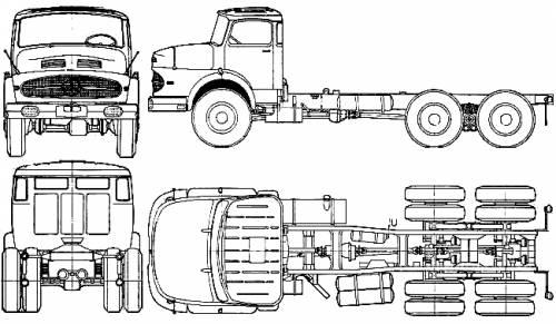 Mercedes-Benz L2623 (1962)