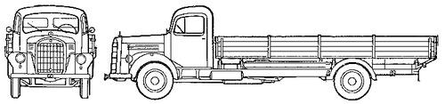 Mercedes-Benz L321 (1959)