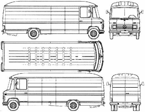 Mercedes-Benz L508 LWB (1975)