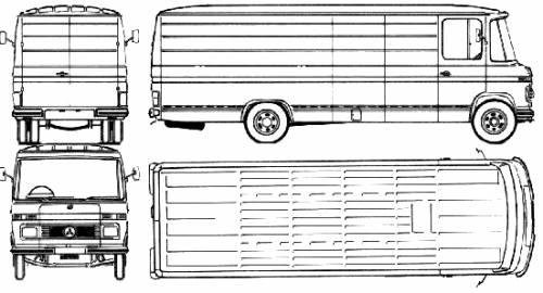 Mercedes-Benz L508 SWB (1975)