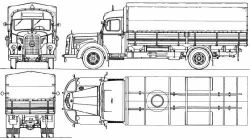 Mercedes-Benz L6600 (1953)