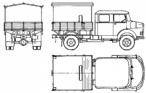 Mercedes-Benz LA911 (1960)