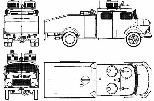 Mercedes-Benz LAF1113 (1975)